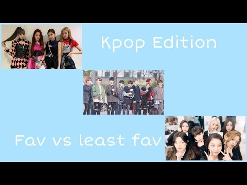 KPOP Edition | Most Vs Least Favorite Songs (MY OPINION)