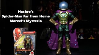Hasbro's Spider-Man Far From Home Mysterio Action Figure Unboxing & Review