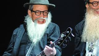 "ZZ Top's ""La Grange"" but everytime he laughs it's Jeff Goldblum"