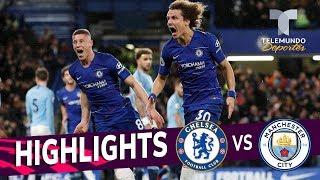 Chelsea vs. Manchester City: 2-0 Goals & Highlights | Premier League | Telemundo Deportes