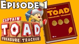 Captain Toad: Treasure Tracker - Episode 1 All Levels (All Gems/Bonus Objectives)