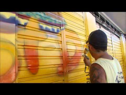 Grafiteiro paulista em Brumado