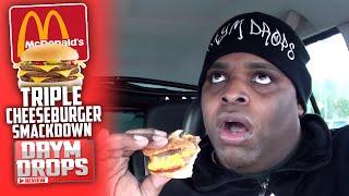 McDonald's Triple Cheeseburger SMACKDOWN