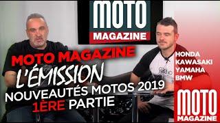 Moto Magazine l'Emission - Nouveautés moto 2019
