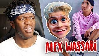 LAUGHING AT: ALEX WASSABI