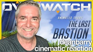 "Overwatch - Animated Short ""The Last Bastion"" REACTION"