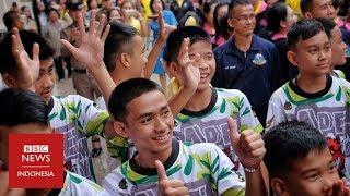 Sembilan hari terjebak dalam gua, tim sepak bola Thailand 'dinyatakan sehat'