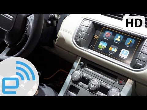 2015 Range Rover Evoque InControl Apps Demo | Engadget
