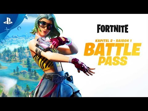 Fortnite | Chapter 2 - Season 1 Battle Pass Gameplay Trailer | PS4