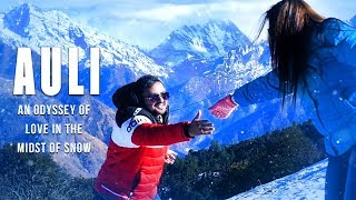 An Odyssey of love in the midst of snow | Auli Pre Wedding Shoot | Mere Naam Tu Song Zero