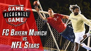 Amazing Catches & Bicycle Kicks: Müller vs. Süle feat. NFL Stars | Game Recognize Game