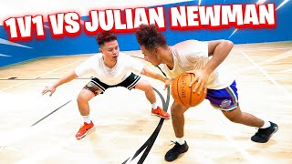 HE'S THE FASTEST PLAYER ON YOUTUBE! 1v1 Basketball Against Julian Newman!