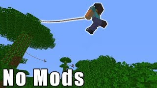 Minecraft, But We Can Swing Like Spiderman