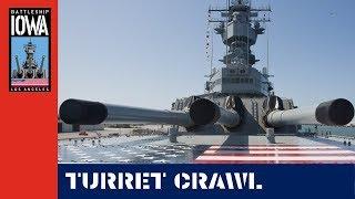 Turret Crawl on Navy Battleship