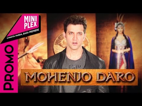 Hrithik Roshan Promotes 'Mohenjo Daro' on Miniplex - Latest Hindi Movie