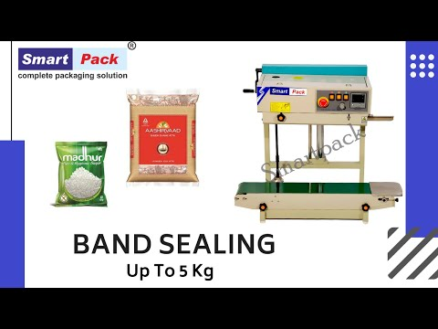 Vertical Band Sealer, Automatic Plastic Bag Sealer [Band Sealer Machine]