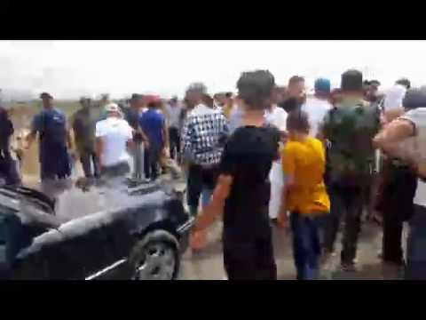 محتجون في الحسيمة يبعدون