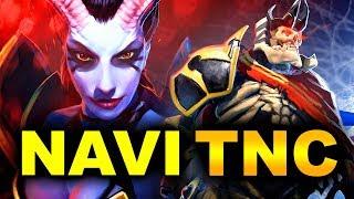 NAVI vs TNC - DECIDER GAME! - ESL ONE MUMBAI 2019 DOTA 2 - YouTube