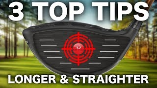 HIT YOUR DRIVER CONSISTENTLY LONGER & STRAIGHTER