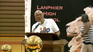 NBA MVP Finals Andre Igoudala, Golden State Warriors in Springfield