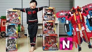 또봇V 변신 로봇 장난감 합체 놀이 Tobot V Toys Robot Transformers NY Toys