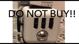 DO NOT BUY THIS FIDGET CUBE!! - Fidget cube comparison