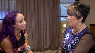 Sasha and Vickie's tearful heart-to-heart about Eddie Guerrero