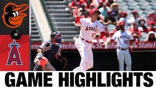 Orioles vs. Angels Game Highlights (7/4/21) | MLB Highlights