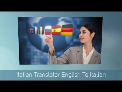 Italian Translator English To Italian