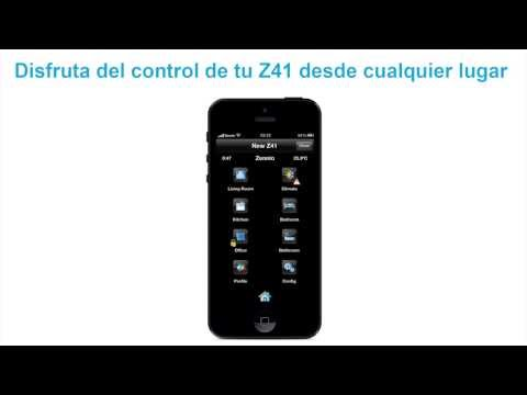 Z41 REMOTE - Zennio APP para control remoto KNX