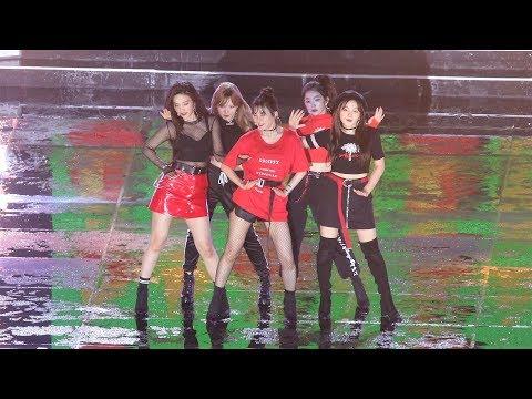 180512 레드벨벳 (Red Velvet) 'Intro + Bad Boy + 빨간 맛 (Red Flavor)' 4K 직캠 / Fancam by -wA-