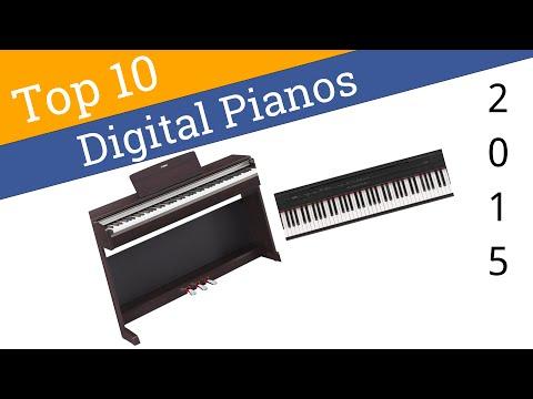 10 Best Digital Pianos 2015