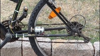 Build a Electric BIKE Using 775 DC motor at Home