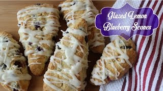 Better Than Starbucks Blueberry Scones Recipe