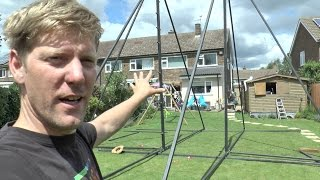 Making a HUGE 360 Swing #1 Chassis