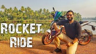 Rocket Ride in Goa | Explore Goa | Chapora and Terekhol forts | That Goan Biker