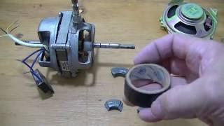gerador de energia com  motor de ventilador