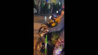 Thị trấn giồng riềng tỉnh kiên giang tối 29 tết âm lịch 2017.