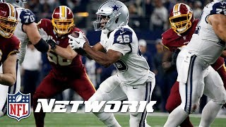 How the Cowboys Rushing Attack Got Back on Track Against the Redskins | NFL Network