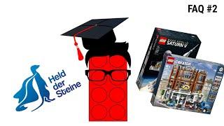 """Meinung zum """"Held der Steine""""   Studium   Seltene LEGO Sets   FAQ #2"""
