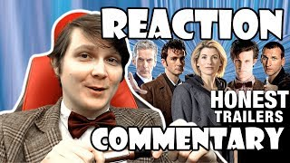DOCTOR WHO (Modern) - HONEST TRAILER Reaction/Commentary!