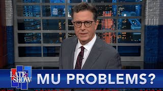 Mu Becomes A Concern, The Delta Spread Continues, And Colbert Shaves The 'Stache