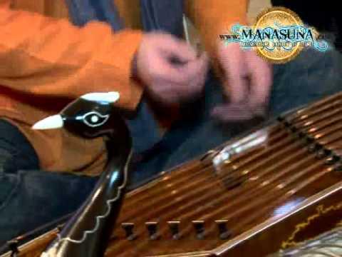 Manasuna - Our favorite instruments - SANTUR & WAVEDRUM - short improvisation