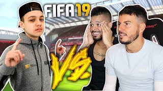 FIFA 19 MATCH VS  CHAMPION!! *CRAZY* | F2FREESTYLERS