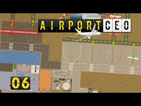 Airport CEO | Was tut er denn da? ► #6 Flughafen Bau Management Simulation deutsch german