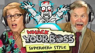 WHACK YOUR BOSS!!! Superpower Edition (Elders React: Gaming)