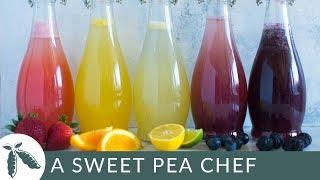 How to Make Homemade Soda + 5 Easy Caffeine-Free Homemade Soda Recipes | A Sweet Pea Chef