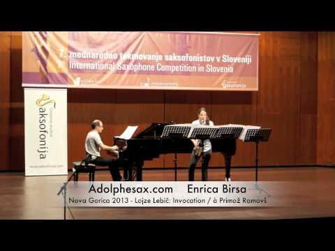 Enrica Birsa - Nova Gorica 2013 - Lojze Lebič: Invocation / à Primož Ramovš