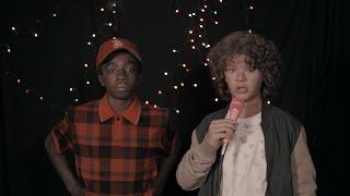 Stranger Things karaoke: Dustin and Lucas sing 80s movie classics
