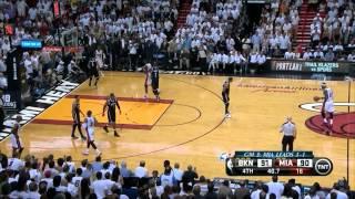 Nets vs Heat: Game 5 Highlights - Ray Allen Buries Garnett and Pierce